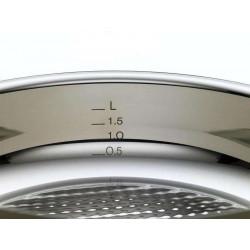 Pack 2 Sartenes de acero inoxidable Steelux Premium de Fissler