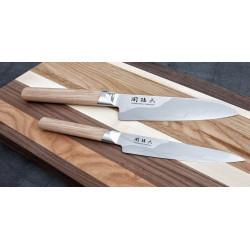 Cuchillo Nakiri Kai Seki Magoroku Composite de 16,5 cm