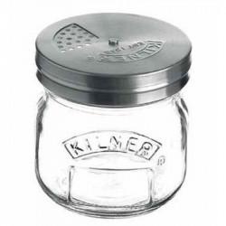 Espolvoreador de tapa regulable Kilner