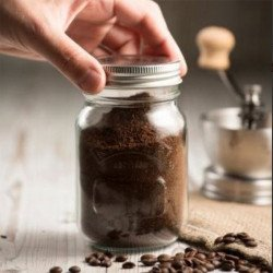 Molinillo de café manual Kilner