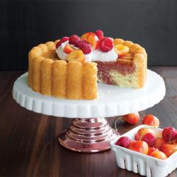 Molde Charlotte Cake Pan de Nordic Ware