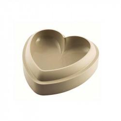Molde de silicona 3D Batticuore Silikomart