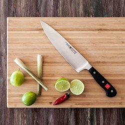 Kit Faca de Chef Classic Wüsthof + fuzil de oferta