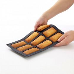 Molde para panecillos mini cake 9 cavidades Lékué