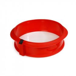 Molde desmontable redondo con plato cerámica Lékué