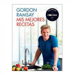 Portada del libro mis mejores recetas de Gordon Ramsay
