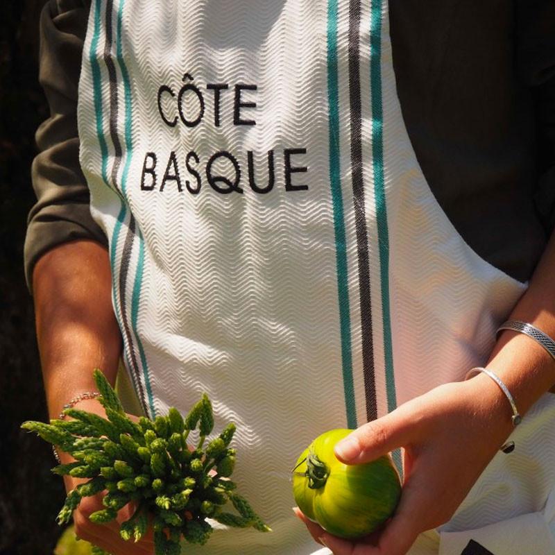 Delantal de cocina colección Cote Basque de Jean Vier