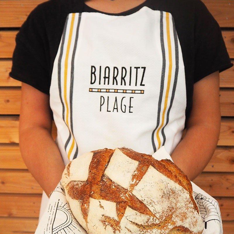 Delantal de cocina colección Biarritz de Jean Vier