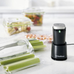 Novo sistema Fresh Saver Compacto Foodsaver.