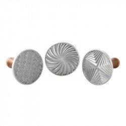 Carimbos geométricos para bolachas Nordic Ware