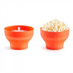 Mini Palomitas de maíz Popcorn de Lékué (2 uds)