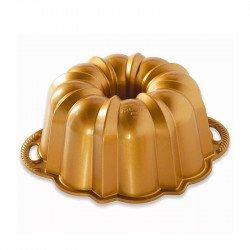 Molde anniversary bundt cake Nordic Ware dorado