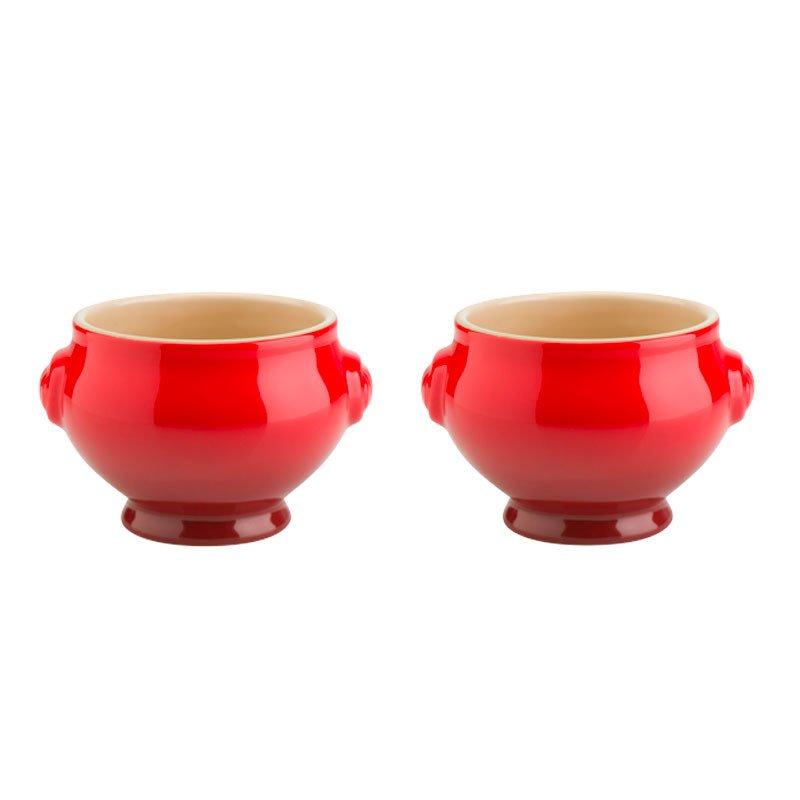 Set 2 soperas cerámica de gres Le Creuset