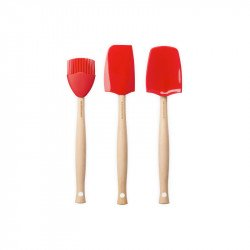 Kit 3 utensílios em silicone Le Creuset Craft