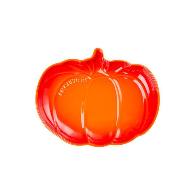 Plato calabaza mediano colección Halloween Le Creuset